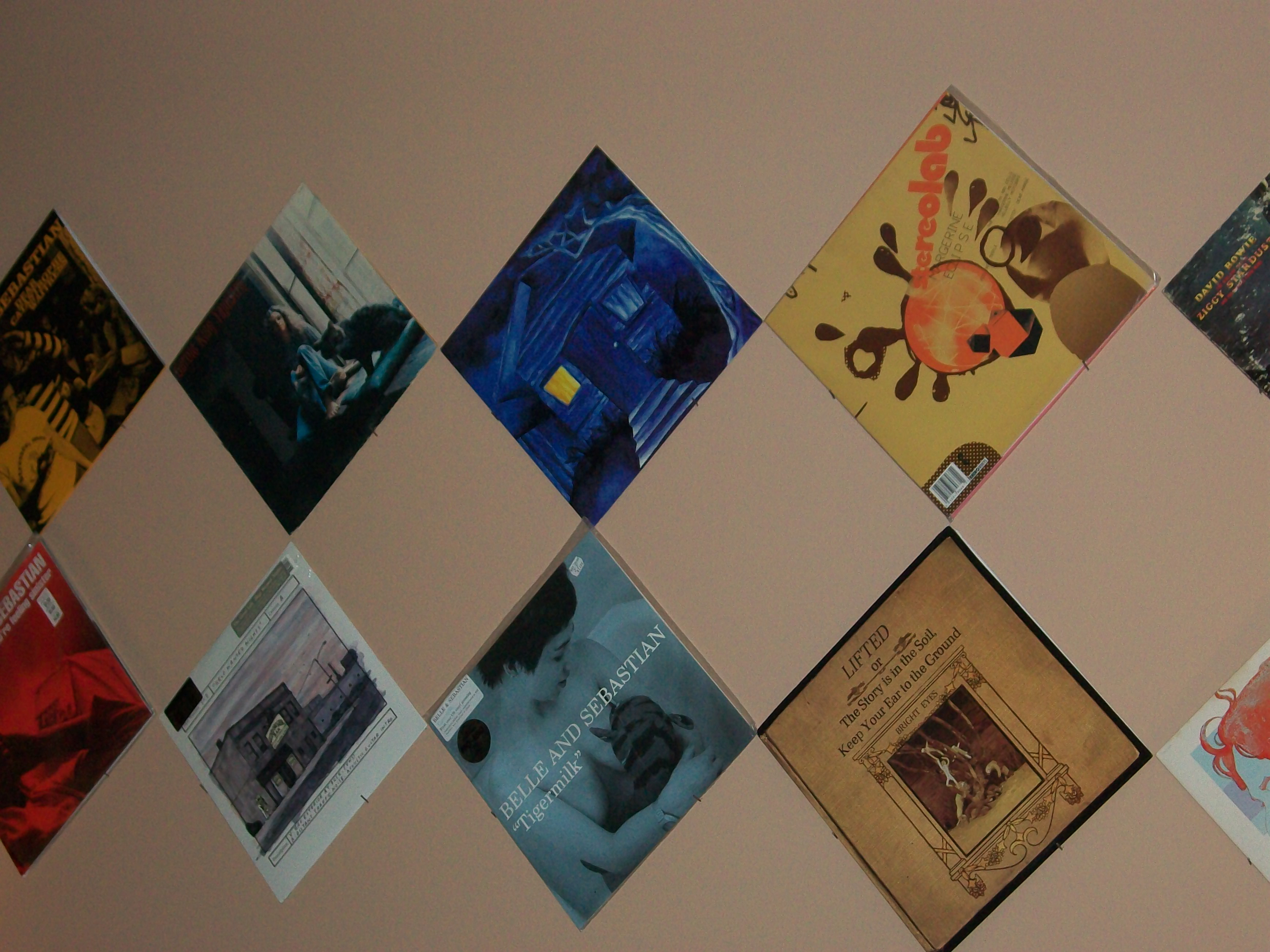 records on the wall u2013 verbena