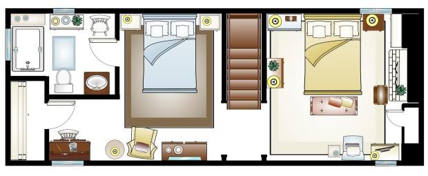 Iris 2nd floor plan