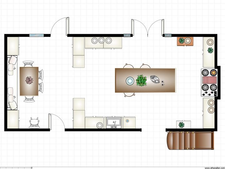 Owens Kitchen Plan