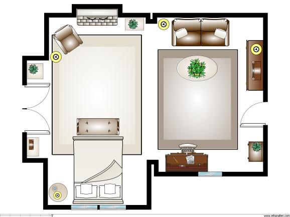 Sally's Room Plan