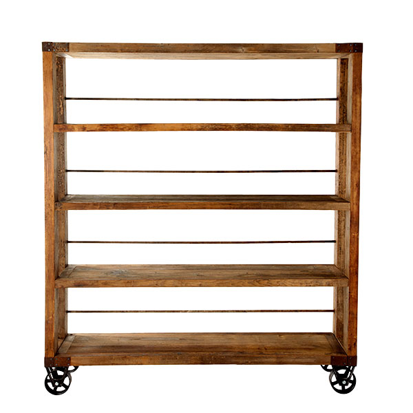 build wooden van shelving