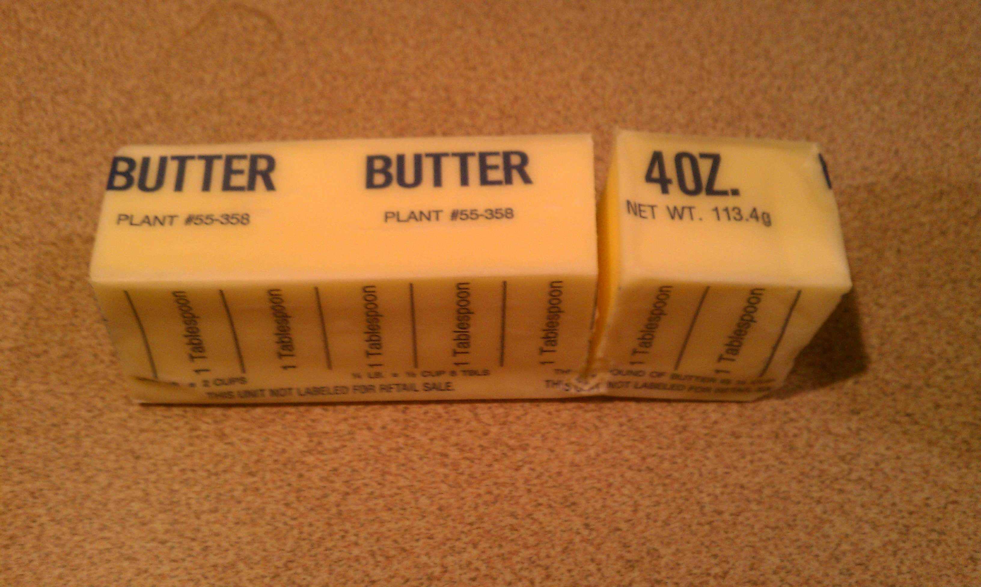 [one stick of butter] - 28 images - what does one stick of ...