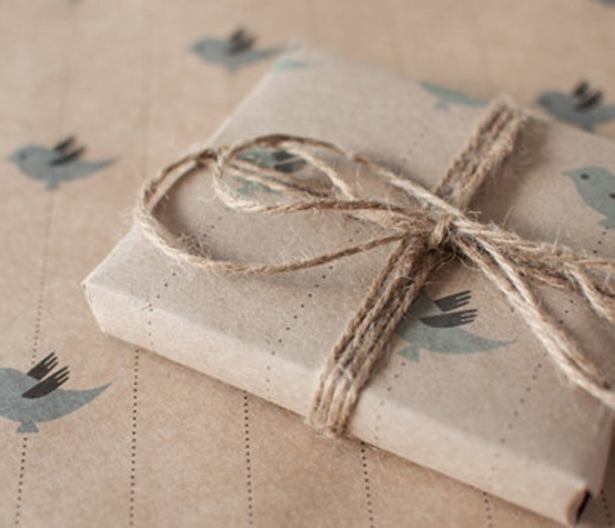 gift wrapping stamps