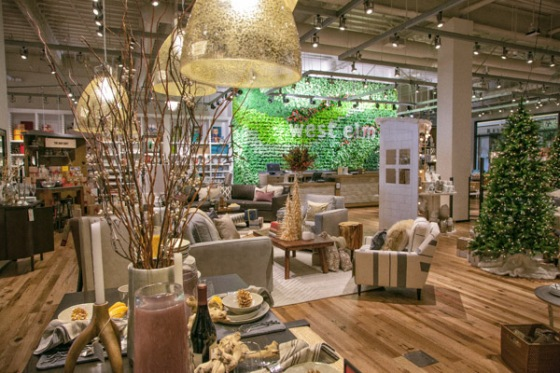 west elm store green