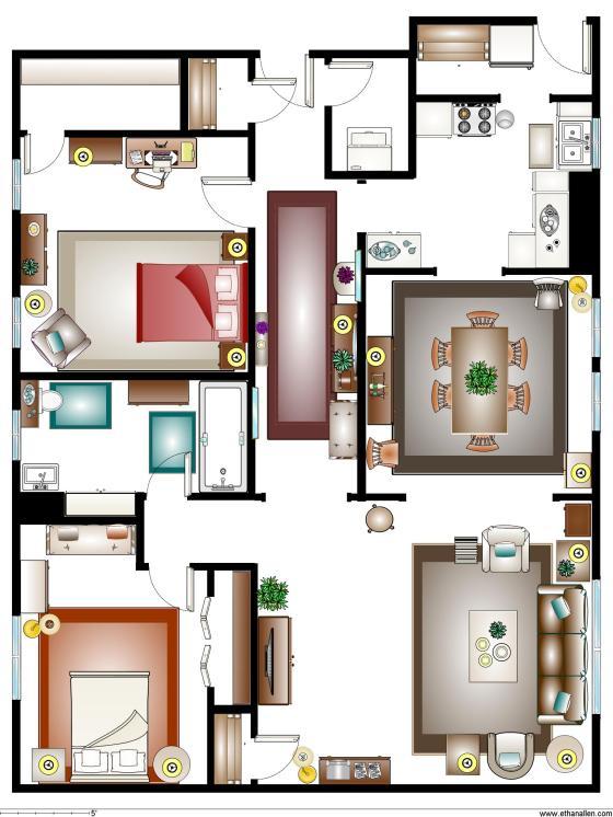 Claire Apartment Plan