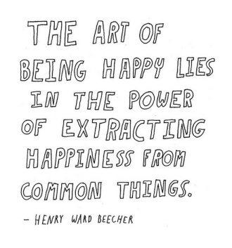 art of being happy