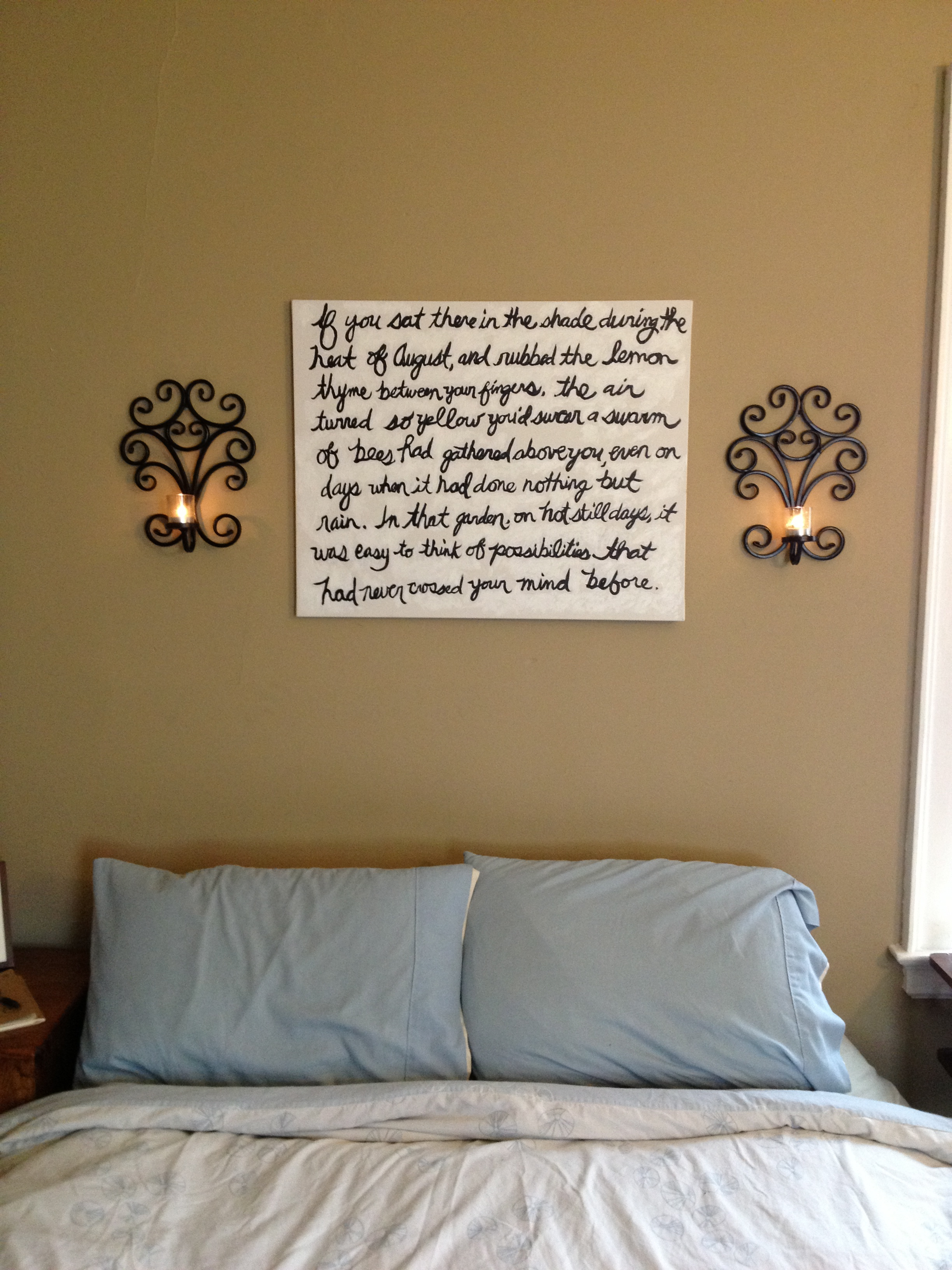 Quote Paintings Diy Quote Painting  Verbena