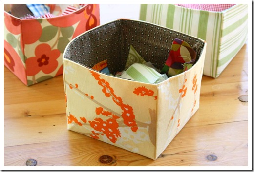 DIY Fabric Box