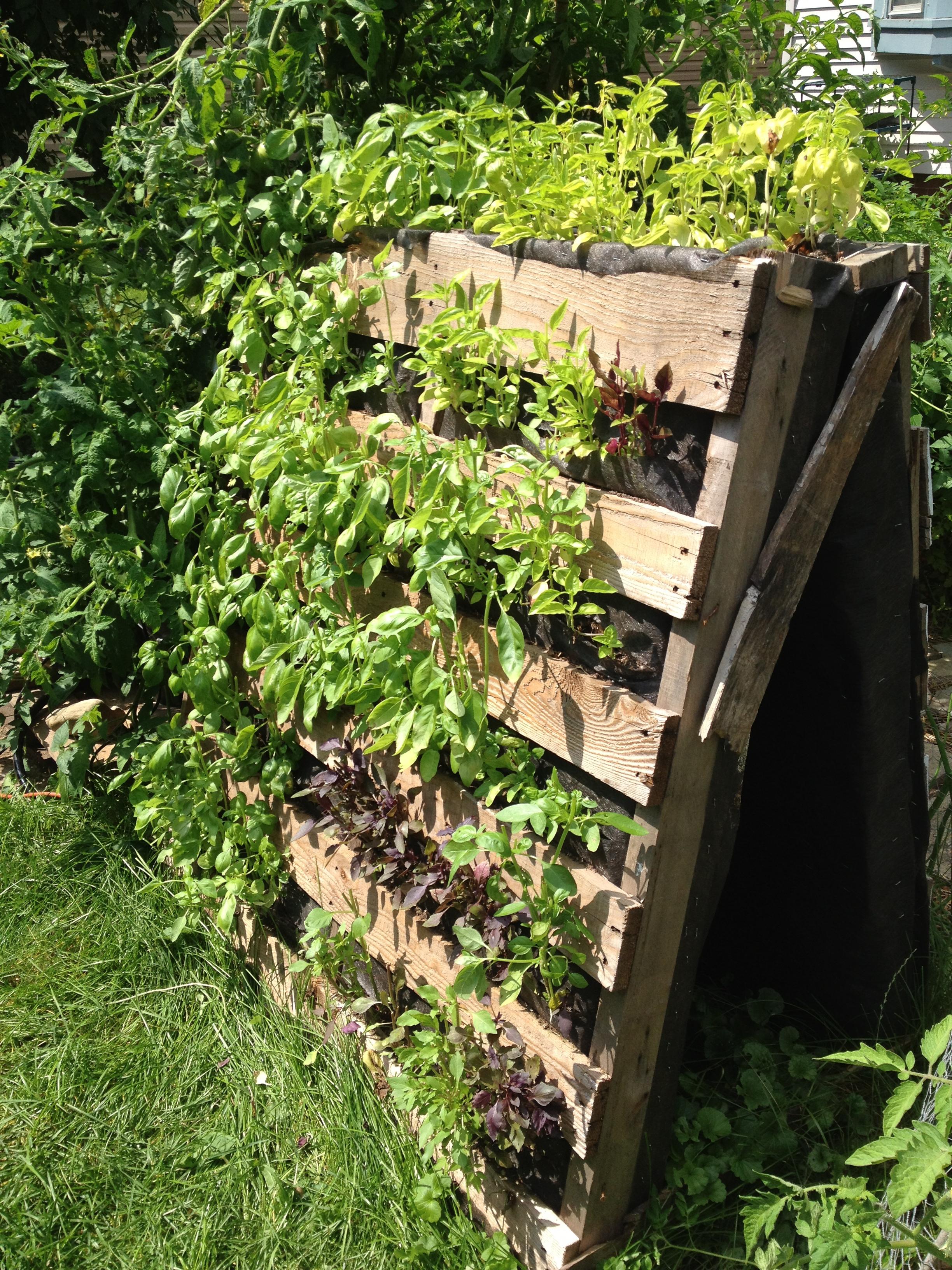 Garden to save space