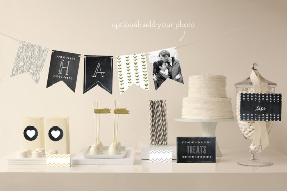 Blackboard Decor from Minted.com