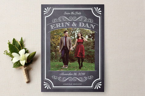 Chalkboard Marriage from Minted.com