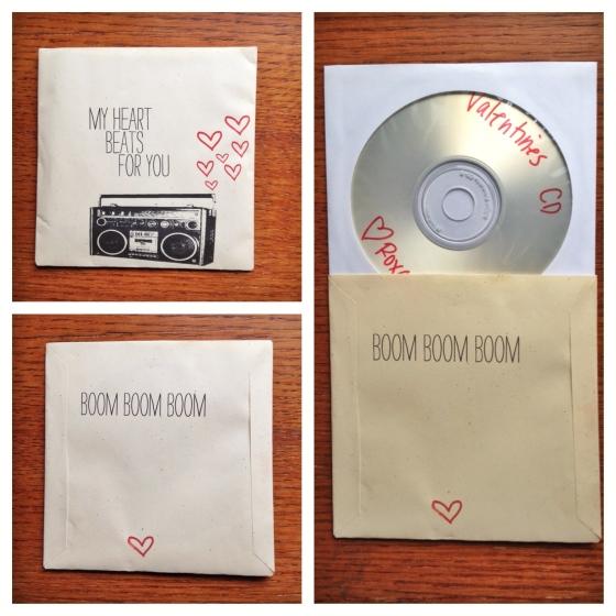 valentines cd
