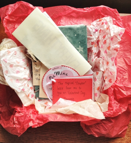 valentines gift box home made