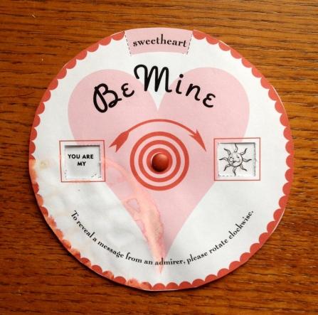 valentines wheel