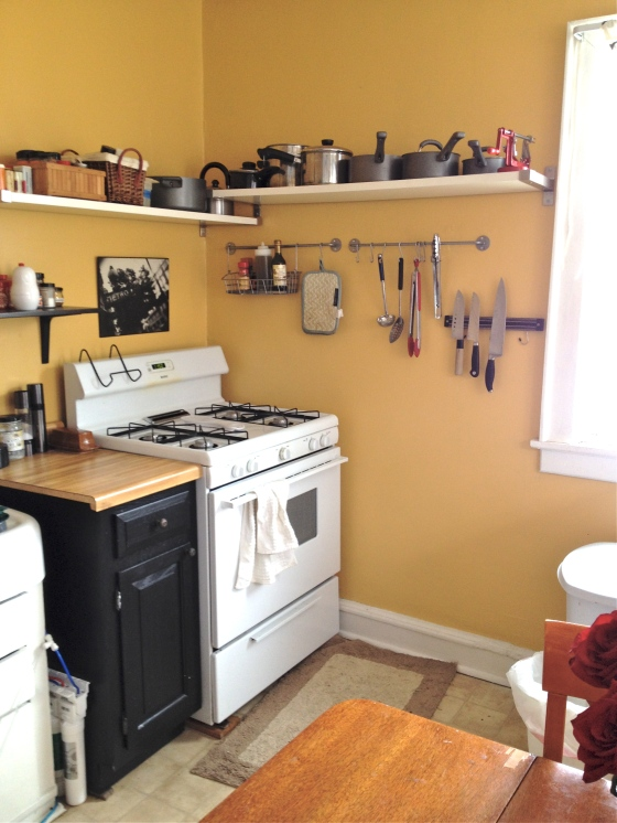 After- Yellow Kitchen
