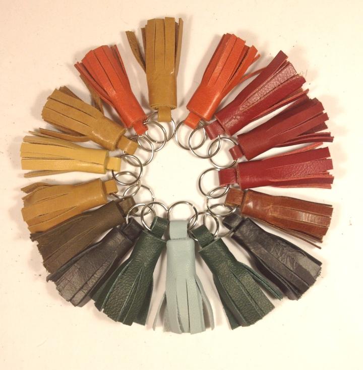 Rainbow of tassles