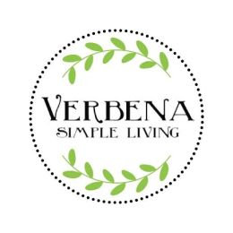 Verbena Simple Living round logo