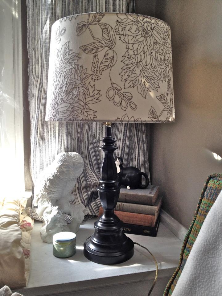 corner after lamp off