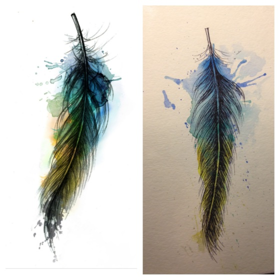 feather pic inspriation