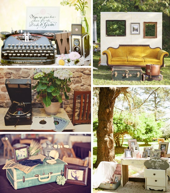 I Plan To Use Luggage Vintage Chairs By The Fireplace And Even Typewriter Picked Up Decorate Will Most Likely Just Scour Apartment For