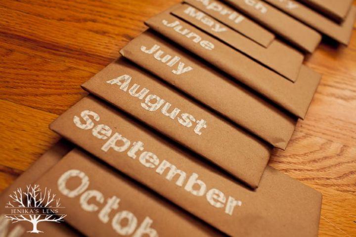 date envelopes