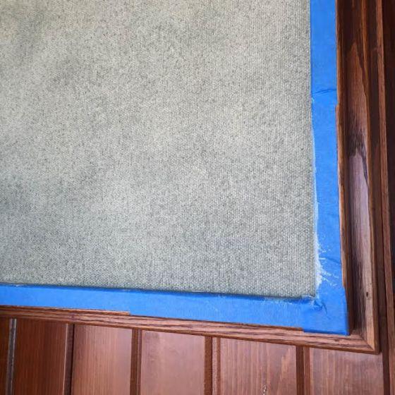 Seas fabric painting