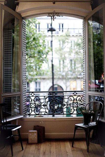 French Window View
