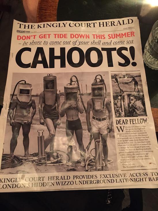 Cahoots 1